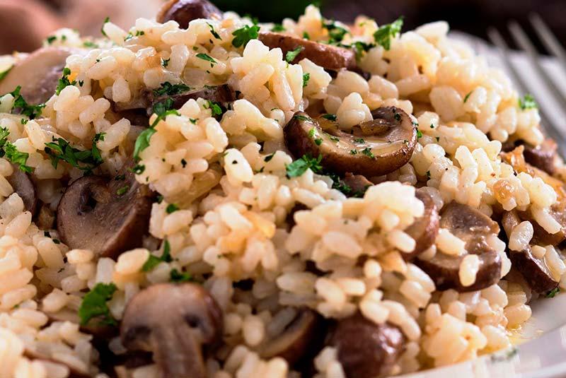 ریزوتوی قارچ - غذای ایتالیایی