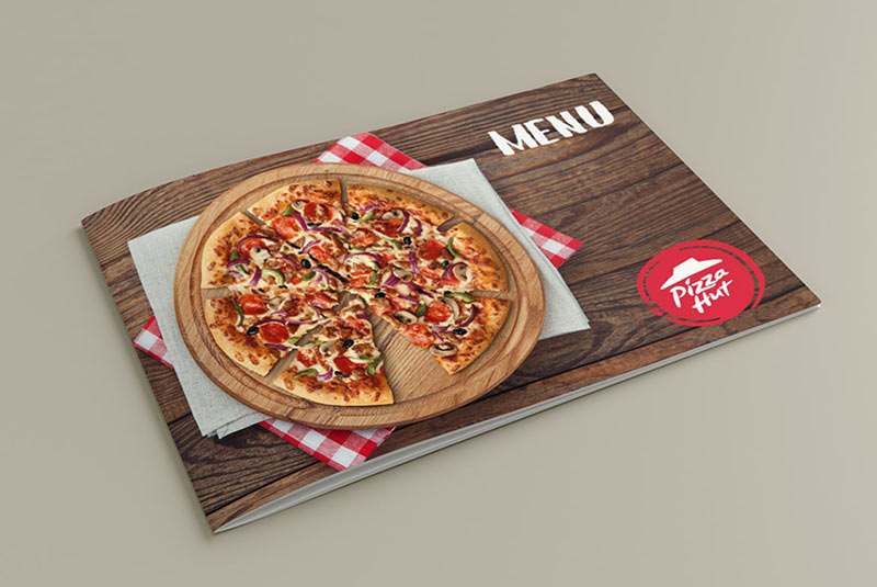 منوی پیتزا هات