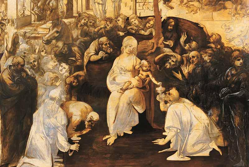 نقاشی های لئوناردو داوینچی