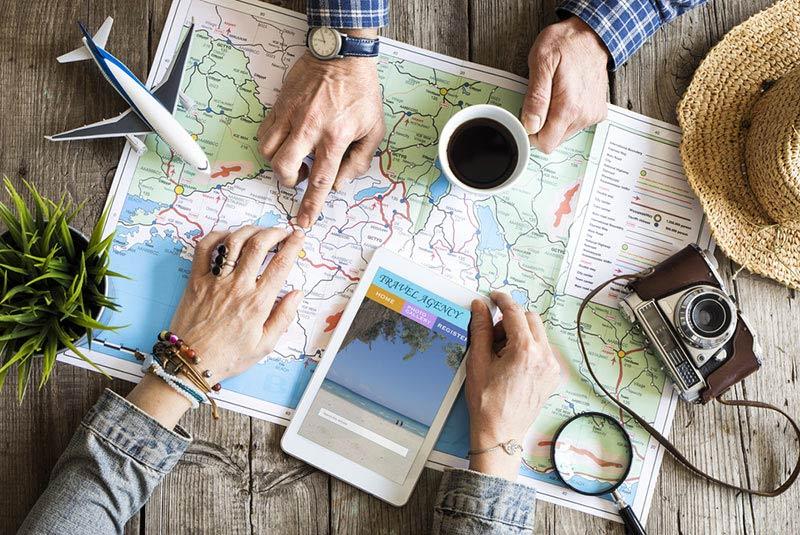 نقشه سفر