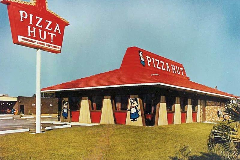 رستوران زنجیره ای پیتزا هات