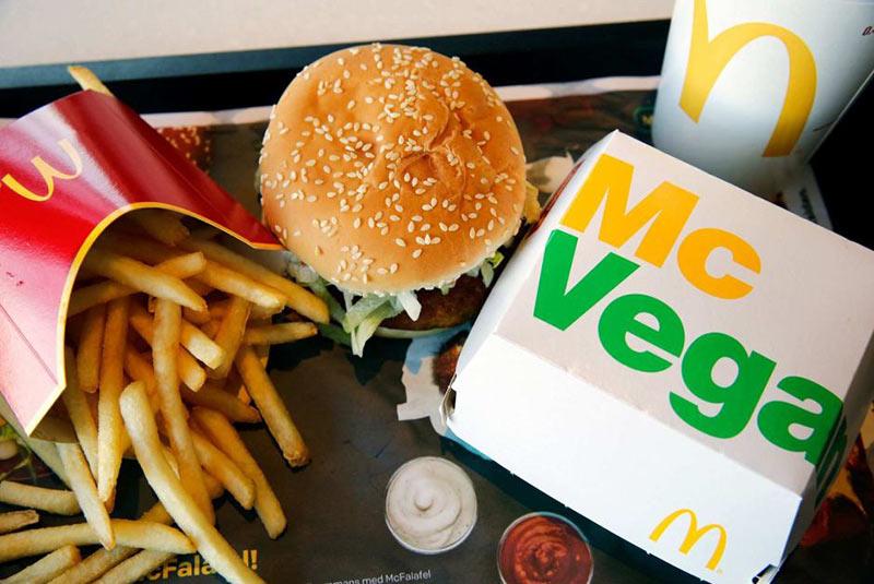 ساندویچ های گیاهی مک دونالد