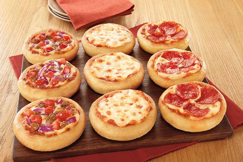 پیتزای شکم پر