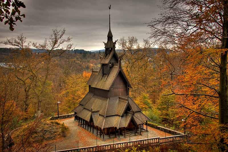 کلیسای چوبی فانتوفت - برگن