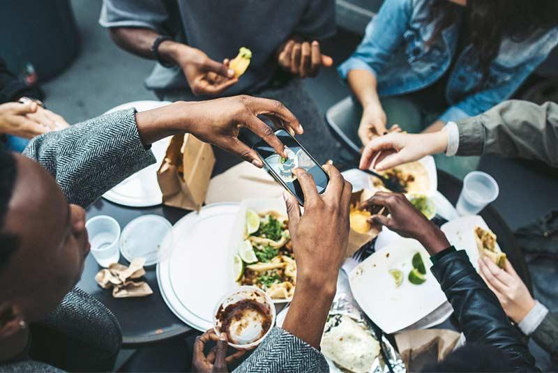 غذای ارزان در اسلو
