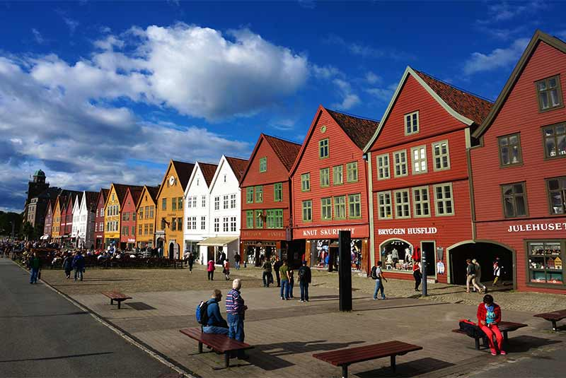 جاذبه های دیدنی برگن - نروژ