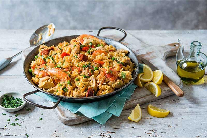 دستور پخت غذاهای اسپانیایی