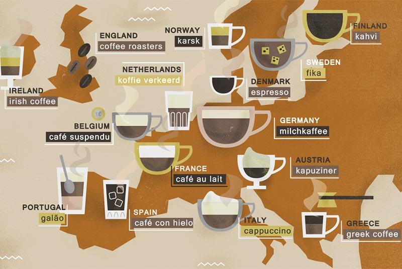 قهوه در اروپا