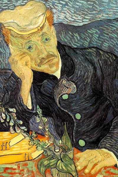پرتره دکتر گاشه - معروفترین نقاشی های ونگوگ