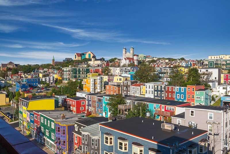 نیوبرانزویک - شهر رنگی کانادایی