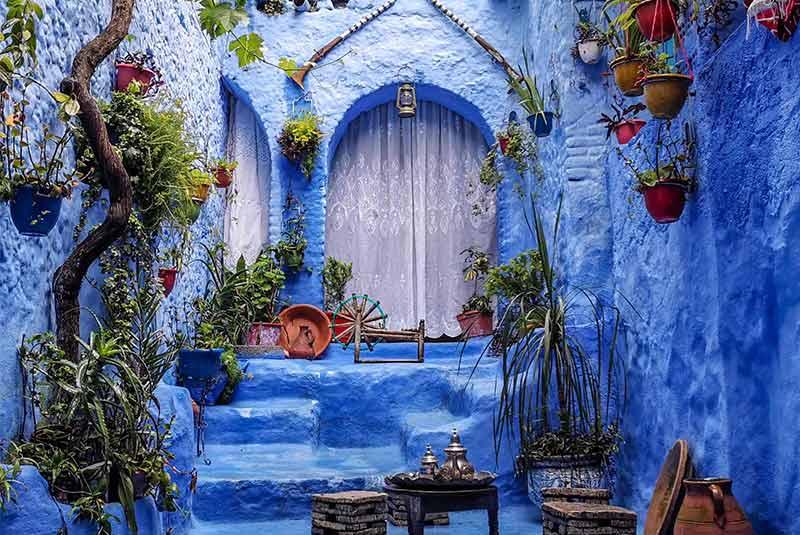 شفشاون - شهر رنگی مراکشی