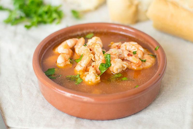 گمبس الخییو - غذای اسپانیایی