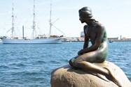 مجسمه پری دریایی در کپنهاگ
