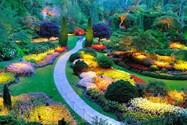 باغ بوچارت ونکوور