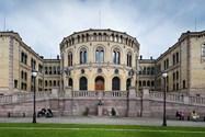 ساختمان پارلمان نروژ در اسلو